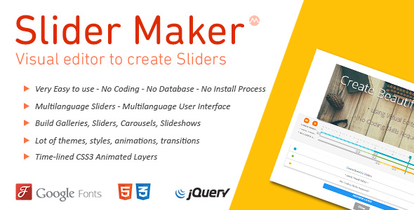 jquery slideshow maker create jquery slider without coding