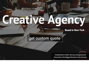 Creative Agency Slider