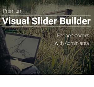 Website Welcome Slider